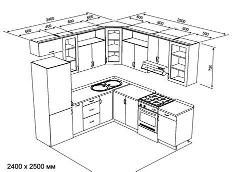 kitchen measurements planos de cocinas muebles de cocina cocinas