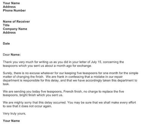 essential business letter format samples