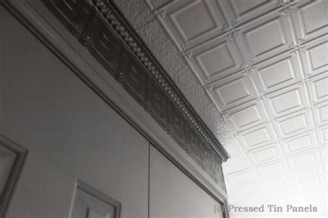 Pressed Tin Ceiling by Ophir Ceiling White