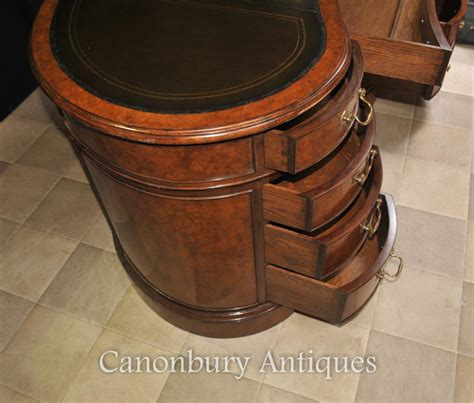 table bureau regency kidney bean desk in walnut writing table bureau