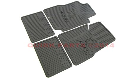 dodge dakota oem floor mats 2006 2011 dodge dakota crew cab slush all weather rubber