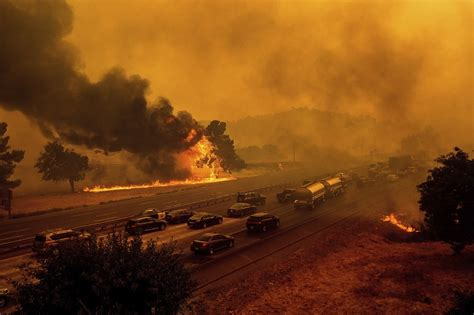 northern california wildfires threaten thousands  homes