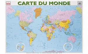 Affiche Carte Du Monde : affiches du monde carte du monde brault bouthillier ~ Dailycaller-alerts.com Idées de Décoration