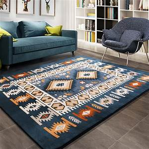 Aliexpress, Com, Buy, Mediterranean, Style, Area, Rugs, Simple, Modern, Blue, Large, Carpet, For, Living