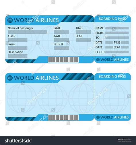 free printable airline ticket printable blank plane ticket template www imgkid the image kid has it