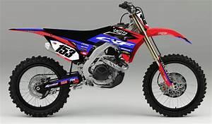 Honda 450 Crf : honda 39 fragment 39 kit rival ink design co custom motocross graphics ~ Maxctalentgroup.com Avis de Voitures