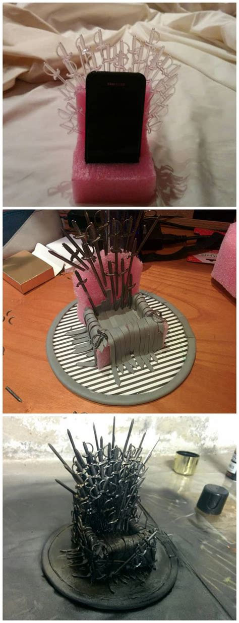 brilliant game  thrones diy projects  men