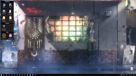 anime girl   rain fps  wallpaper desktophut