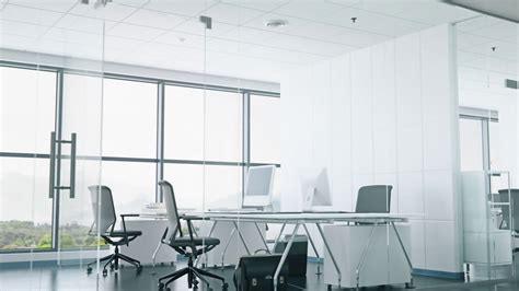 Office Space Free by Modern Office Space With Glass Walls Motion Background