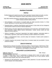 accounting controller resume exles assistant controller resume template premium resume sles exle