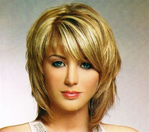 shag hairstyles for medium length hair shag chin length