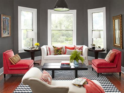 colorful living rooms  copy hgtv