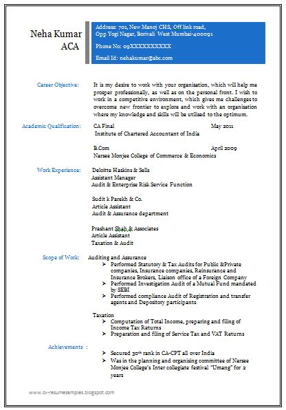 resume for all 10000 cv and resume sles with free professional resume format for all