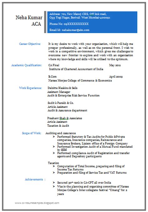 Professional Resume Exles 2013 by 10000 Cv And Resume Sles With Free Professional Resume Format For All