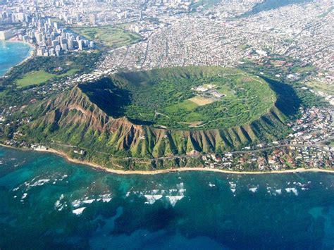 Filehead East Aerial View Waikiki And Honolulu Hawaii
