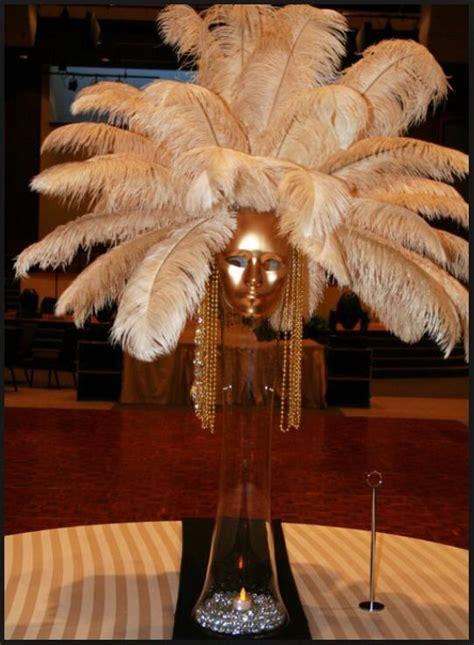 feather centerpieces  diys  ideas