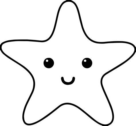Starfish Sea Creatures Coloring Page Wecoloringpagecom
