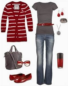 A Colletion of Hot Red Outfits From Casual to Formal ...