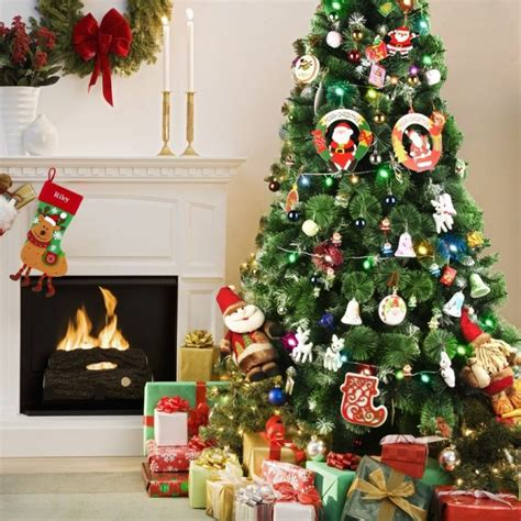codream 7ft artificial christmas trees with stand for