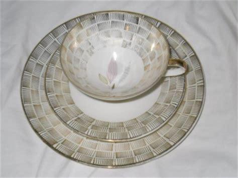 eschenbach elfenbein porzellan 3pc eschenbach elfenbein porzellan bavaria german floral deco cup saucer plate ebay