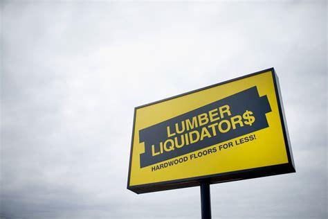 lumber liquidators pulls all chinese made laminate