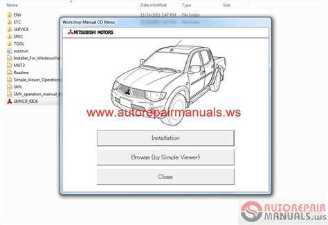 mitsubishi l200 2012 workshop manual auto repair manual forum heavy equipment forums