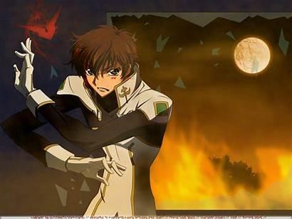 Suzaku Kururugi Code Geass Rebellion Lelouch Male
