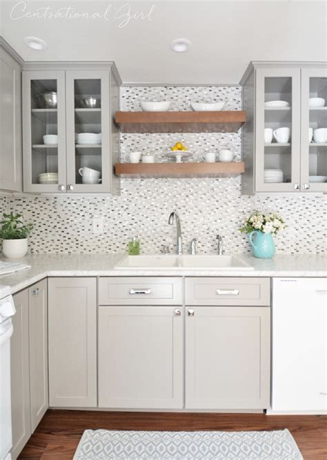 gray wood kitchen cabinets gray white kitchen remodel centsational style