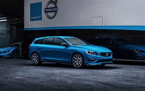 Volvo V40 Cross Country 4k Wallpapers by 2014 Volvo V60 Polestar Car Vehicle Blue 4000x2500 2
