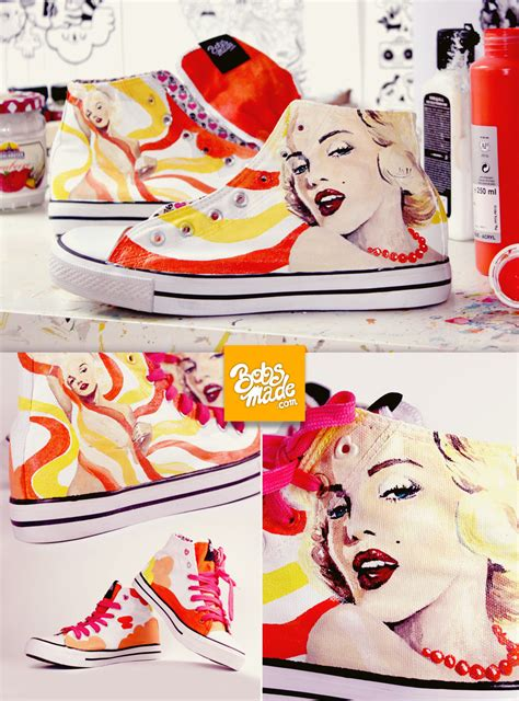 Marilyn Monroe Shoes By Bobsmade On Deviantart