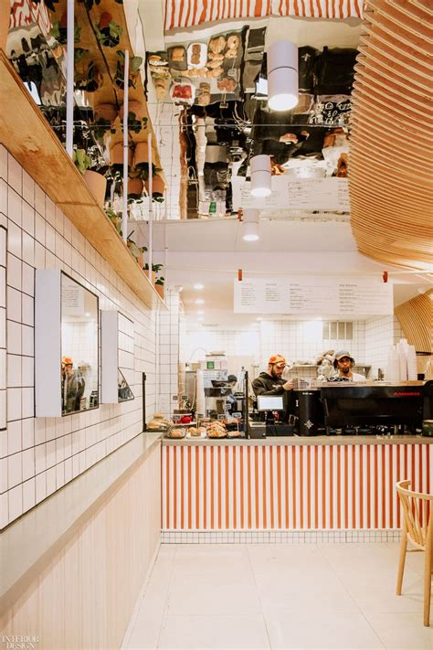 Dan jones coffee shop new york cold brew photo — crown creative hospitality design agency nyc. Bolt Design Group Serves Up a Tiny Jolt of Warmth in NYC's Dan Jones Coffee Bar in 2020 | Bar ...