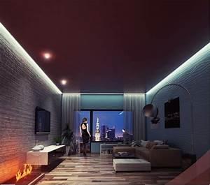 Decke Verkleiden Möglichkeiten : neu led light system spanndecken r ume neu erleben ~ Michelbontemps.com Haus und Dekorationen
