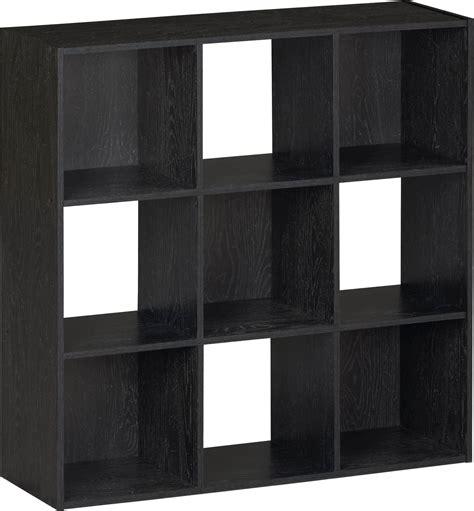 9 cube bookcase black twenty 9 cube bookcases shelves and storage options