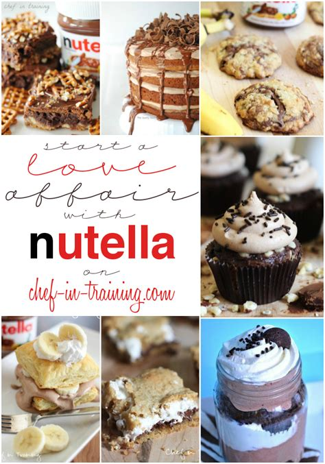 50 mouthwatering nutella recipes chef in
