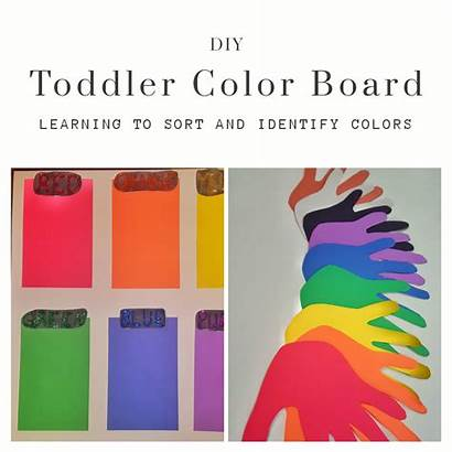 Diy Board Toddler Learning Activities Toddlers Califfcreations