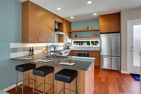 u shaped kitchen designs with peninsula 36 stylish small modern kitchens ideas for cabinets 9514