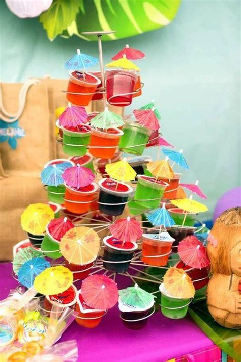 affordable  creative hawaiian party decoration ideas