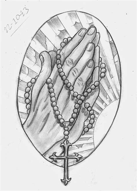 Tattoo Sketch A Day: Religious October 8th - 14th