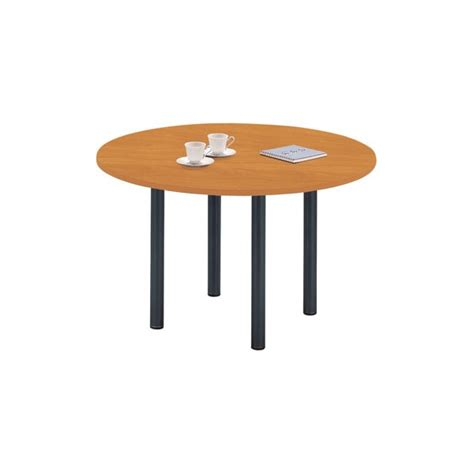 table ronde bureau table ronde pied 4 pieds fixes h s