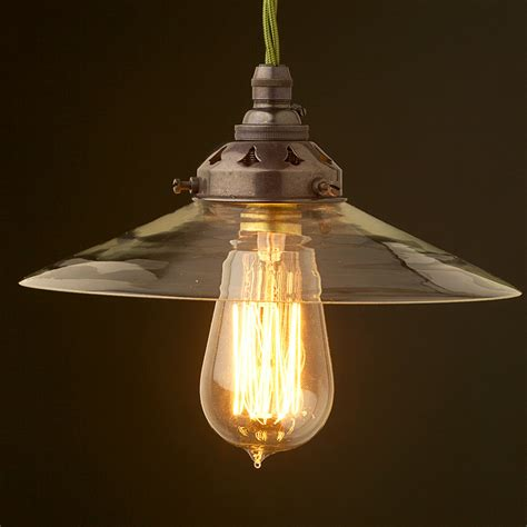 glass light shades clear glass coolie lshade pendant