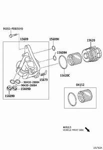 Toyota Corolla Element Kit  Oil Filter  Engine