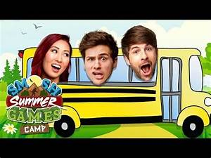 FIRST CAMP EXPERIENCES (Smosh Summer Games) | Summer games ...