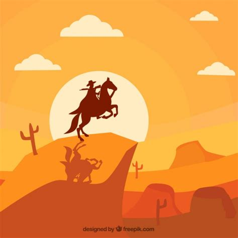 monochromatic background  wild west  cowboy