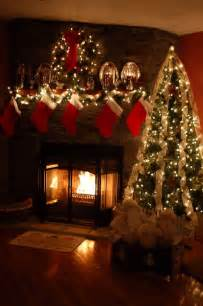 christmas fireplace christmas stuff pinterest