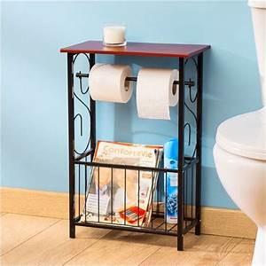 Porte Revue Wc : distributeur papier toilette porte revues confort et vie deco salle de bain pinterest ~ Teatrodelosmanantiales.com Idées de Décoration