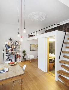 Coole Jugendzimmer Mit Hochbett : kleine wohnung einrichten mit hochbett coole ideen zum 1 zimmer wohnung einrichten mit loft bed ~ Bigdaddyawards.com Haus und Dekorationen