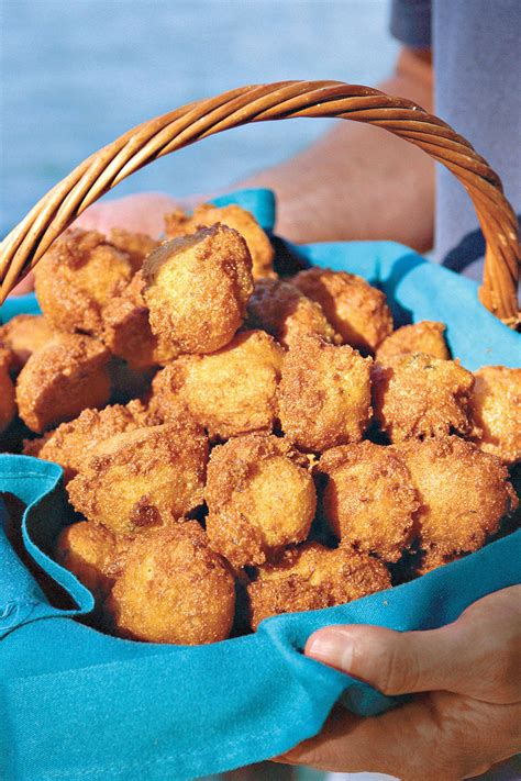 fried deep hush puppies food staff foods southern tasty living recipes recipe favorites southernliving portrait lela