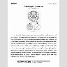 The Age Of Exploration 8th Grade Worksheet  Lesson Planet