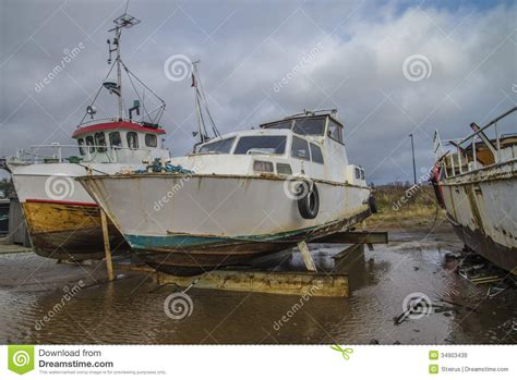 Big Boat In Rust by Big Steel Boat Royalty Free Stock Images Image