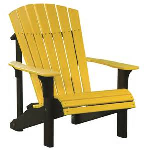 Vinyl Adirondack Chairs luxcraft poly deluxe adirondack chair swingsets luxcraft